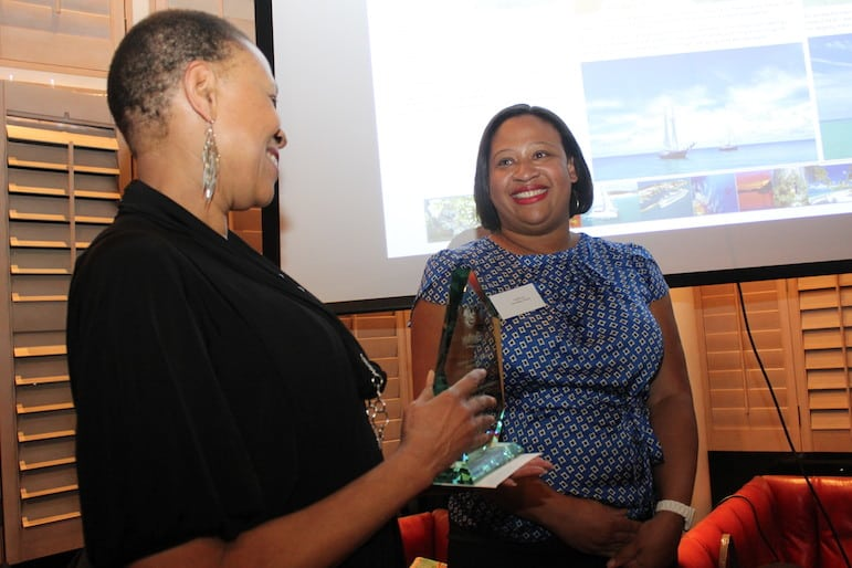Sarah wins a Caribbean Tourism Organisation Journalism Award