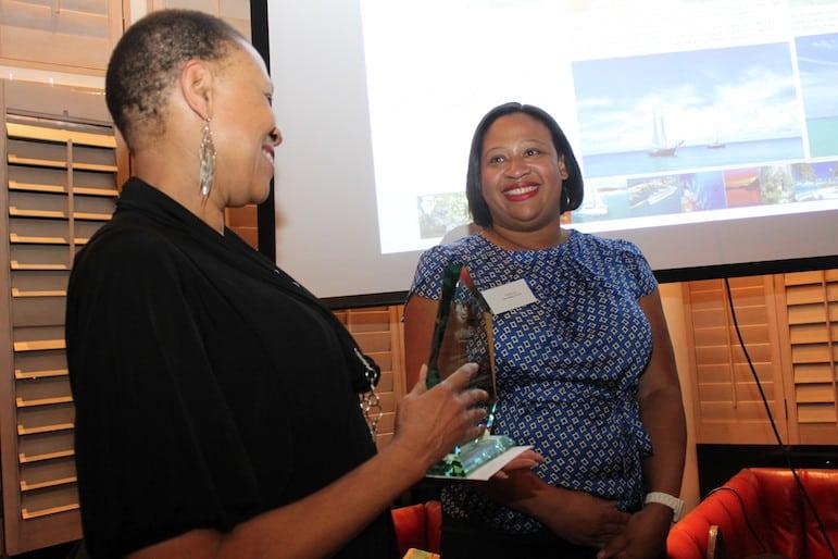 Sarah wins a Caribbean Tourism Organisation Journalism Award