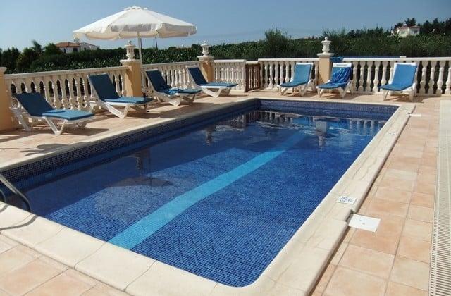 Swimming pool at Villa Rafaella, Cyprus a James Villa