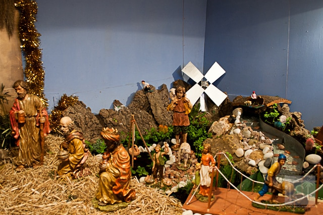 Cacamal in nativity scene
