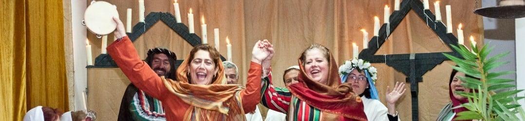 Celebrating the living nativity in Arcos De La Fronteras