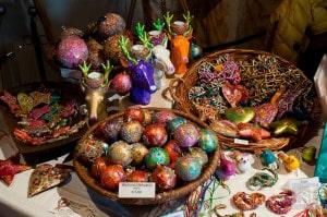 Christmas gifts for sale at Schloss Schallaburg