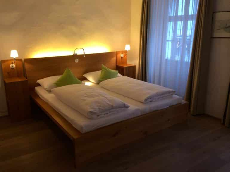Room at Hotel Blaue Gans