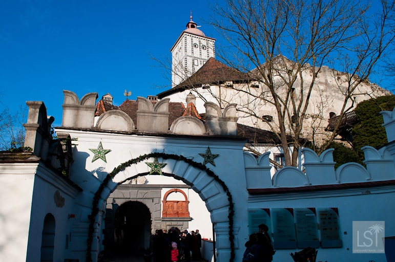 Schloss Schallaburg has a Christmas market amid its Rennaisance style architecture
