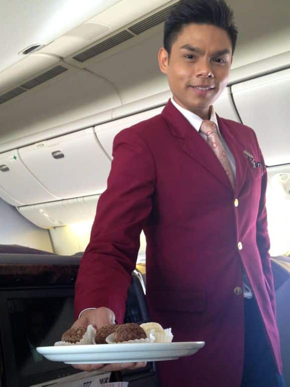 Business class service, Royal Brunei Airlines