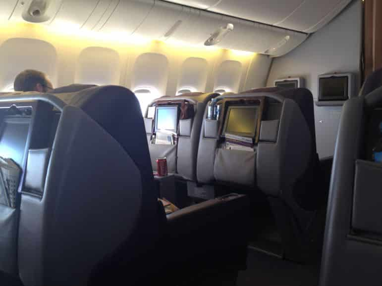 Business class on Royal Brunei's 777s