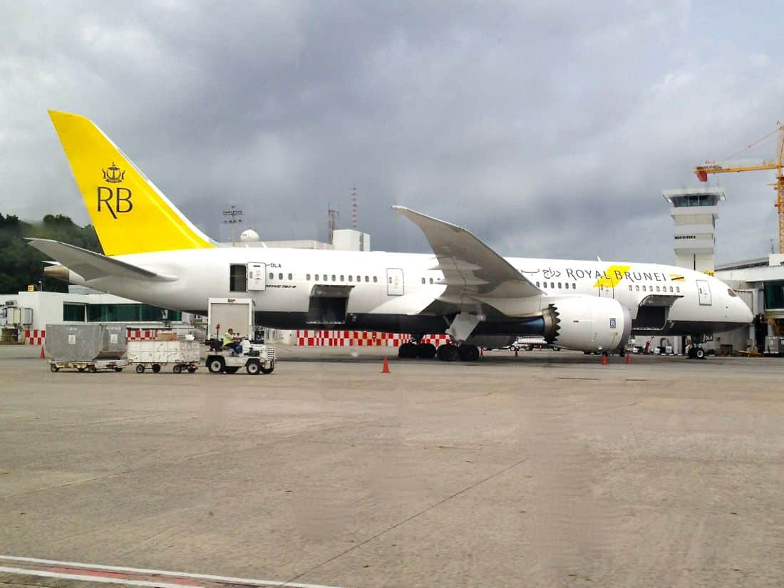 Royal Brunei's first Boeing 787 Dreamliner