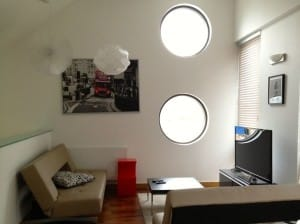 Living room of the London holiday rentals apartment