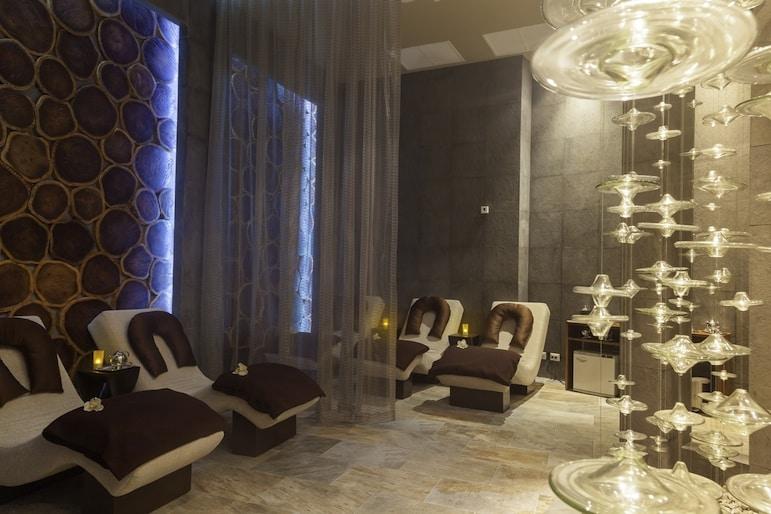 The spa at Palace Resorts' Playacar Palace