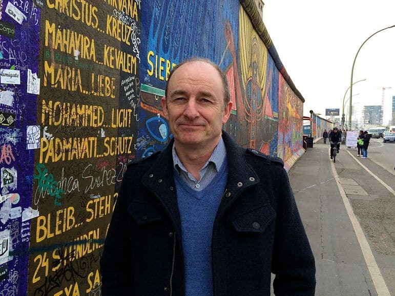 Berlin on a budget - Terry at the East Side Gallery