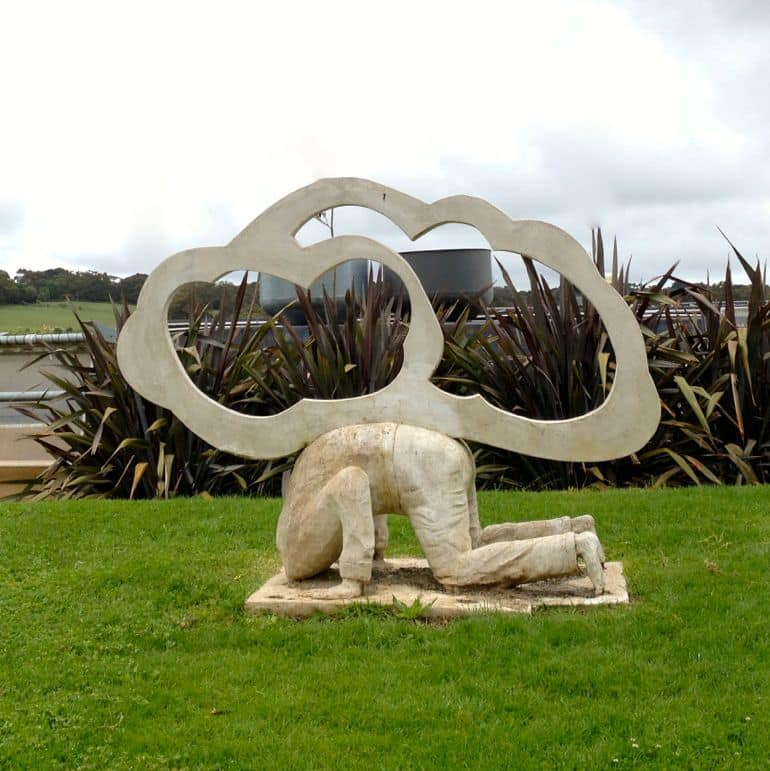 Sculpture at Montalto, Mornington Peninsula