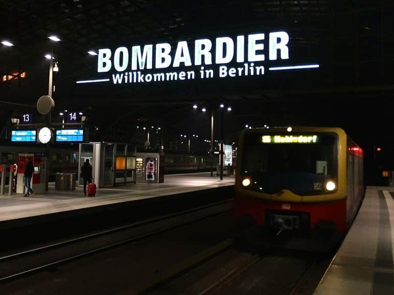 Hauptbahnhof, Berlin's Central Station, is right next to the Meininger Hotel Berlin