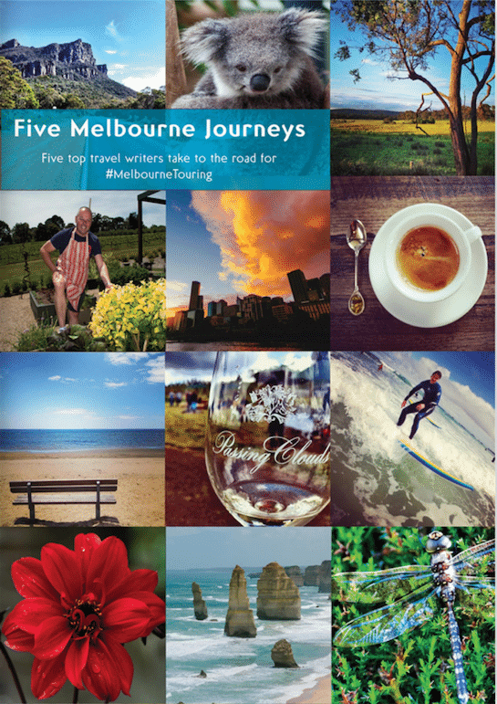 Travel to Melbourne for Five Melbourne Journeys