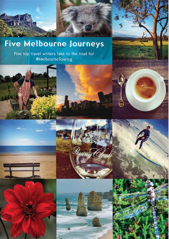 Travel to Melbourne for Five Melbourne Journeys