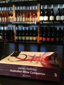 Australia's best wine regions and wines are listed in this wine companion jpg