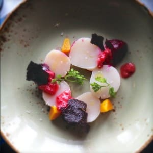 Beetroot salad at Montalto