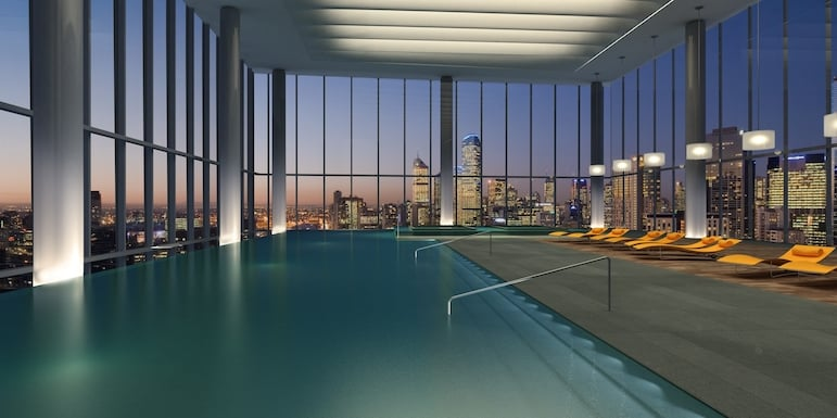 Crown Metropol swimming pool
