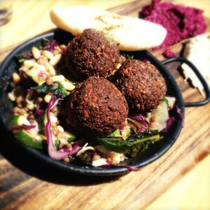 Falafel at Dee's Kitchen