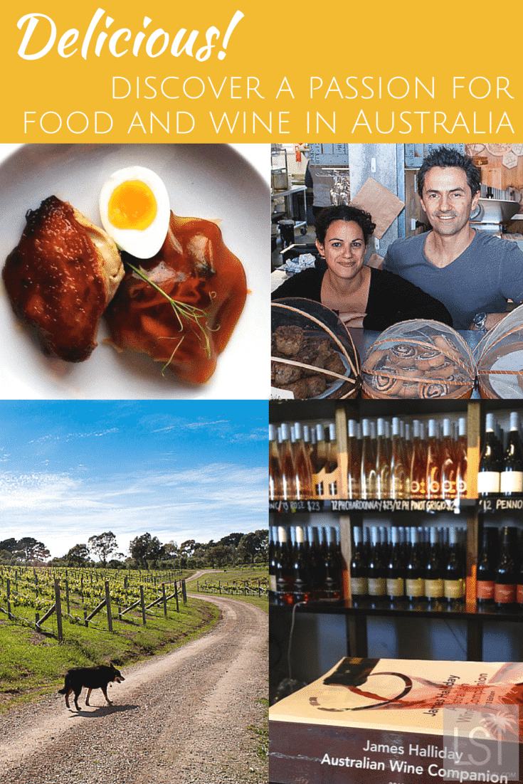 Food passion in Mornington Peninsula, one of Australia's best wine regions