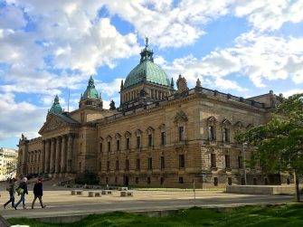 Walking tour of Leipzig gives us a taste for the city