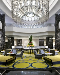 Lobby of the Crown Towers