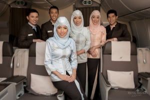 Royal Brunei cabin crew - win a holiday to Melbourne