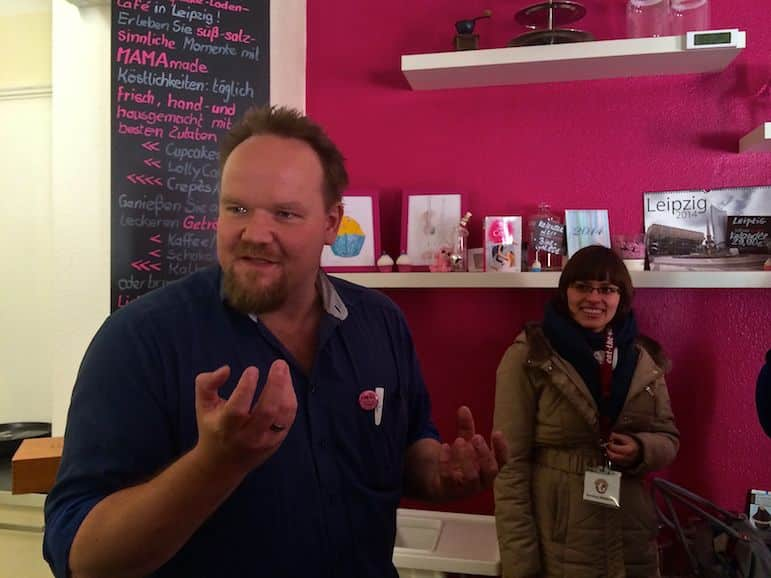 Thomas Hillar of Mintastique explains his passion for cupcakes