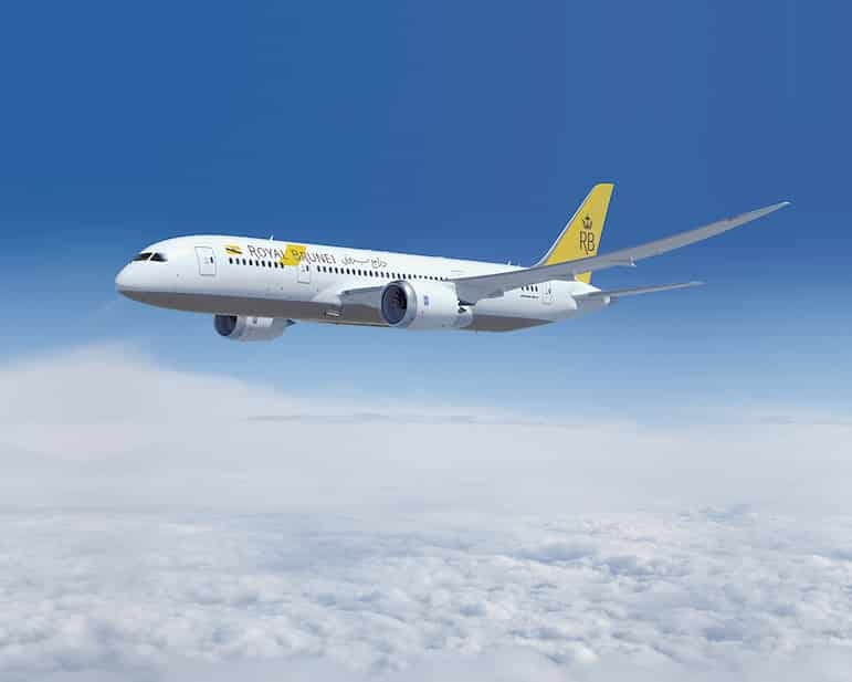 Win a holiday to Melbourne aboard Royal Brunei's Boeing 787 Dreamliner