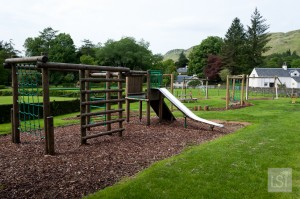 Children's playground at Melfort Village