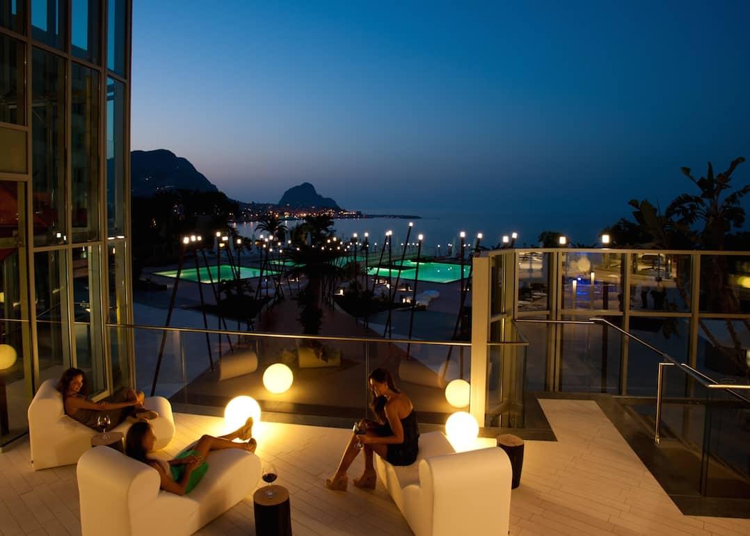 Soak up the views from day to night at Domina Zagarella Sicily