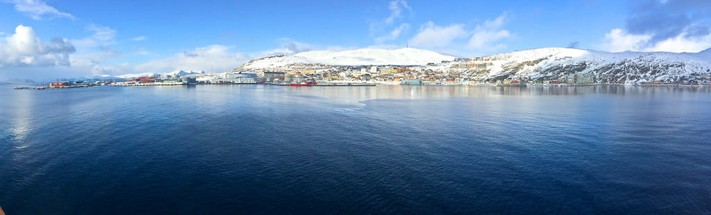 Hammerfest - the most northerly town in Europe