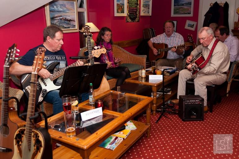 Music night at Melfort Village