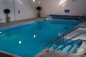 Swimming pool at Melfort Village