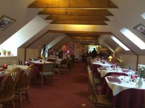 The Shower of Herring restaurant at Melfort Village