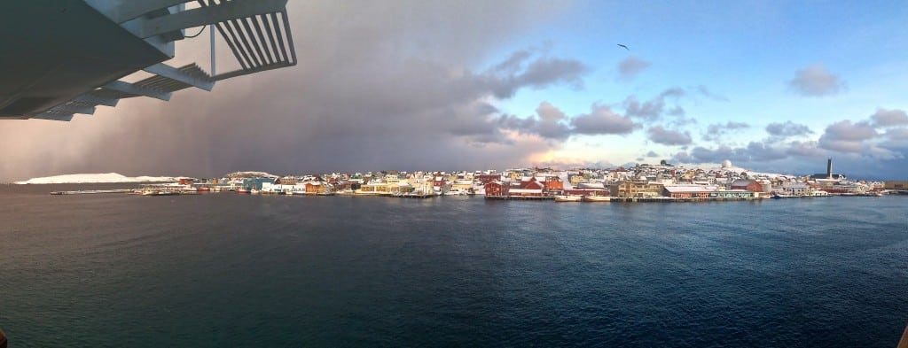 Vardø's changing weather