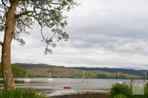 Views across Loch Melfort