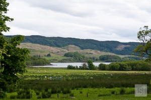 Views over Loch Melfort from Melfort Village