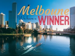 Guess who's going to Melbourne with Royal Brunei Airlines…