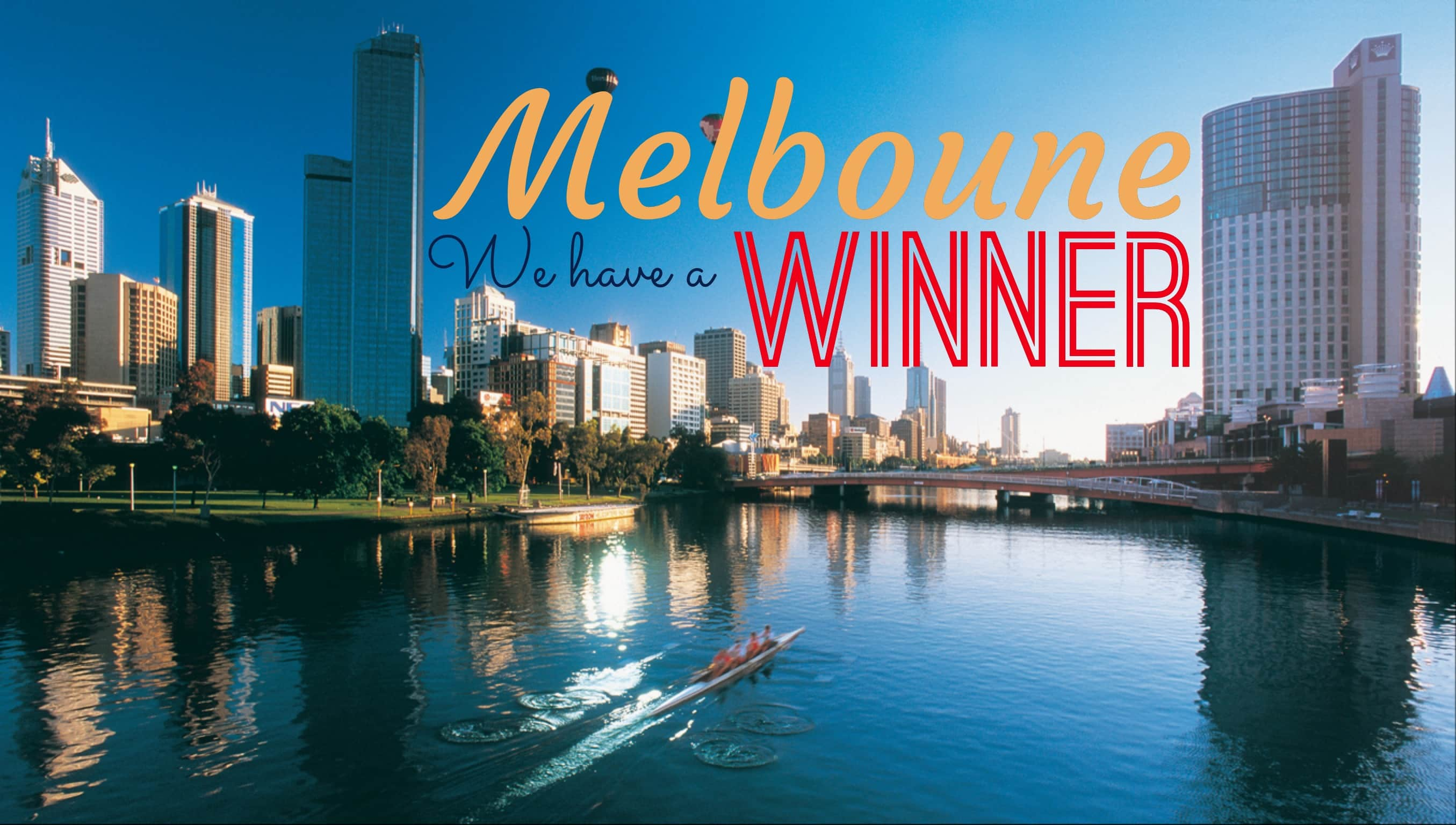 Winner of our Melbourne competition