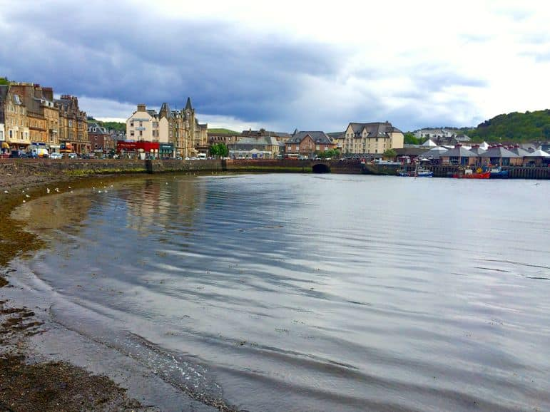 Oban Bay - far from the seaside stereotype