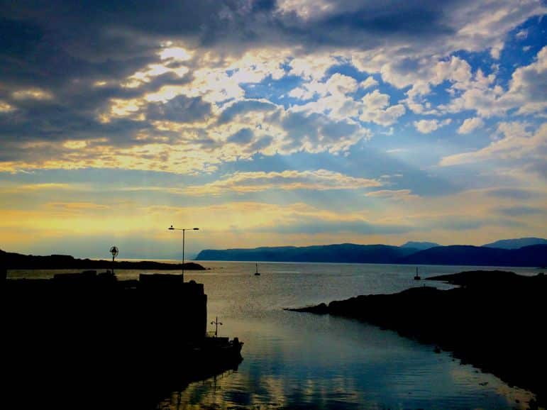 Dusk from Easdale