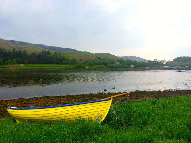 The colours of Loch Melfort