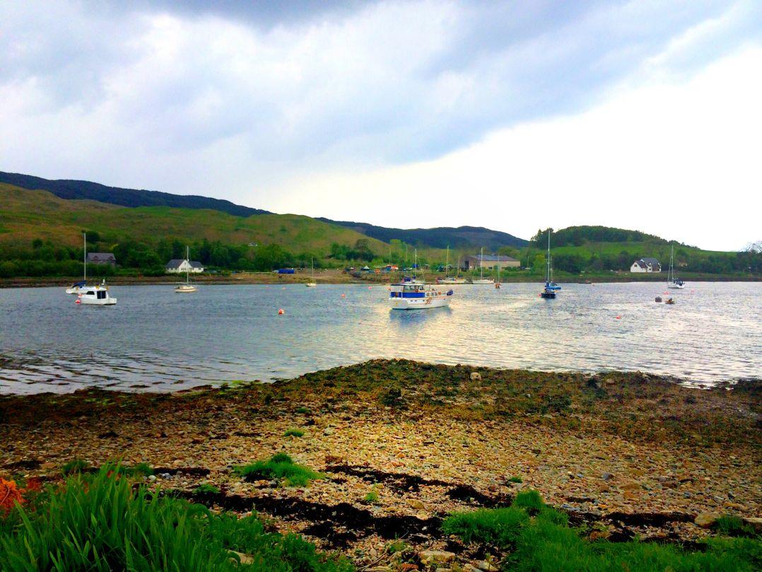 Loch Melfort, Melfort Village
