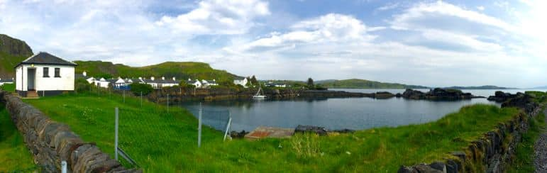 One of many pretty corners of Seil Island