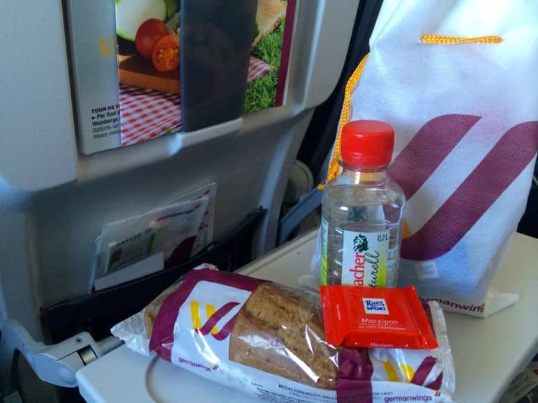 A Smart snack aboard Germanwings