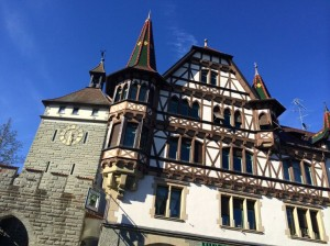 Building in the town of Constance, Germany