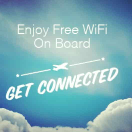 Free Wi-Fi for all on Norwegian Airlines