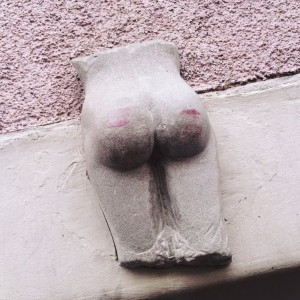 Kiss the lucky bottom, Constance, Germany
