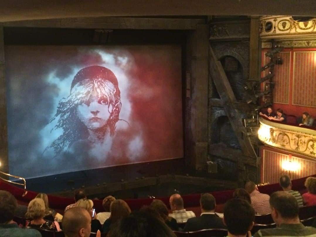 Ready to see Les Miserables in London Theatreland