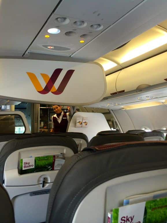 Smart service on Germanwings' low cost flights